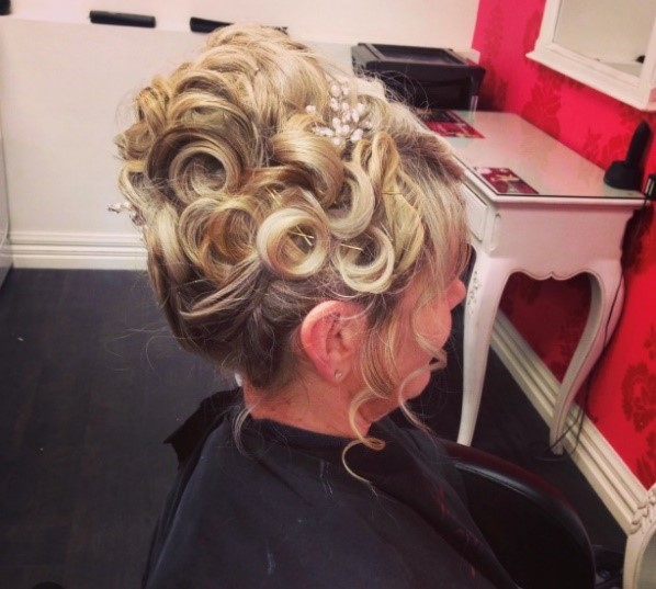 Hair up for races