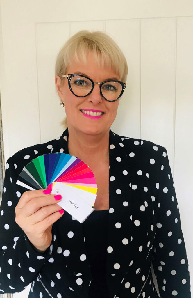 Vicki picking your colors - Personal Fashion Stylist Christchurch