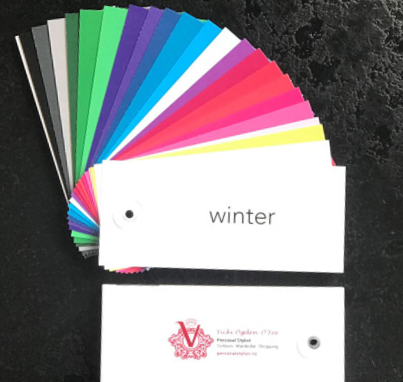 Picking your colors, Winter, Persona Styling