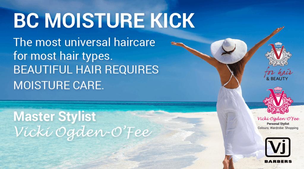 BC Moisture Kick - V for Hair and Beauty, Merivale