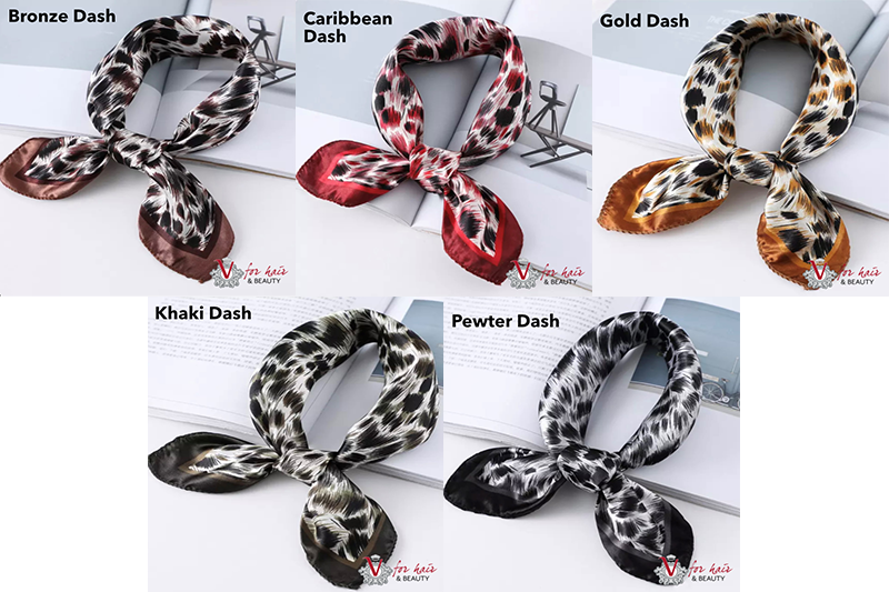 Dream in colour scarves DASH COLLECTION