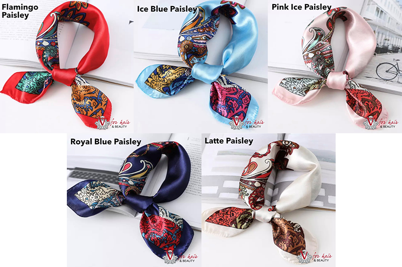 Dream in colour scarves PAISLEY COLLECTION