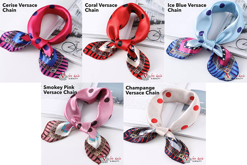 Dream in colour scarves VERSACE CHAIN COLLECTION