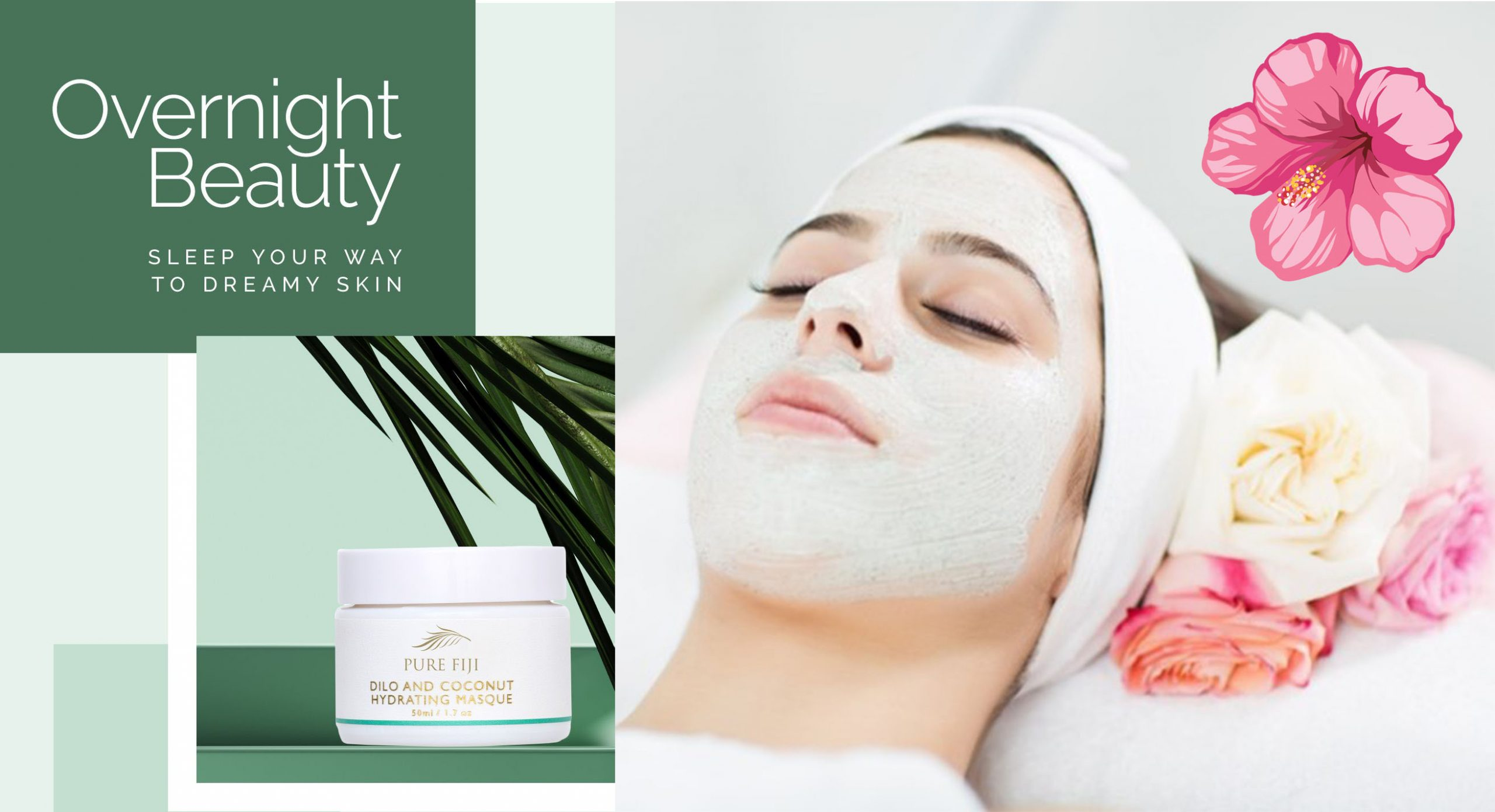 Over night beauty face masque