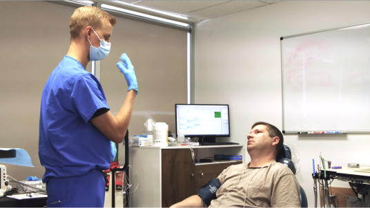 Anesthesia performed for Dental Implant Surgery