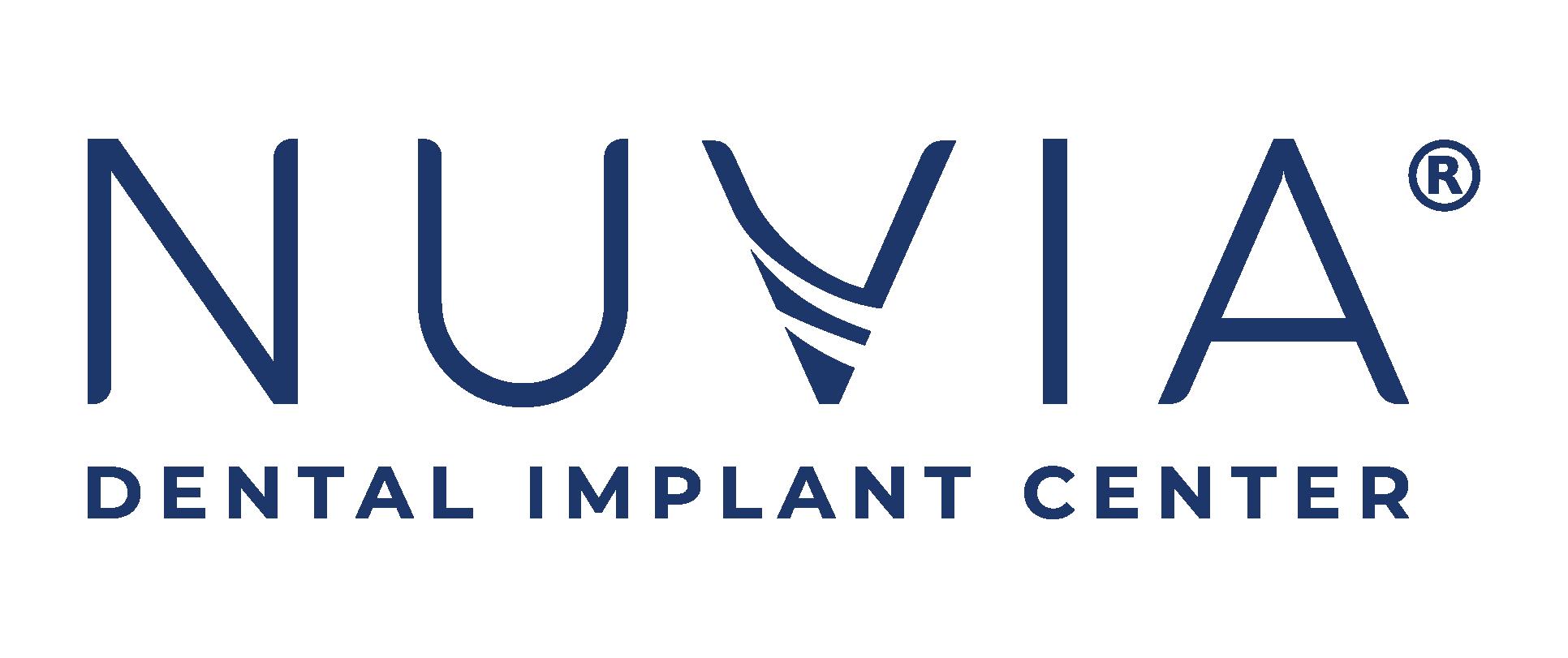 Nuvia Dental Implant Center Registered Logo