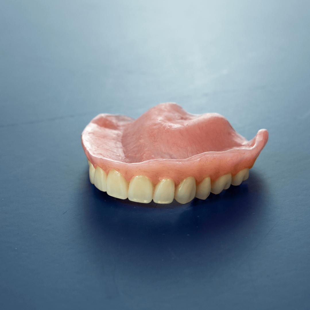 Dentures that are used to make conversion dentures, or temps