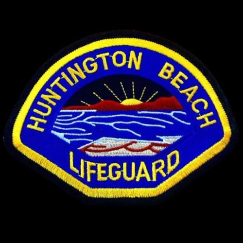 Huntington Beach Lifeguard Badge