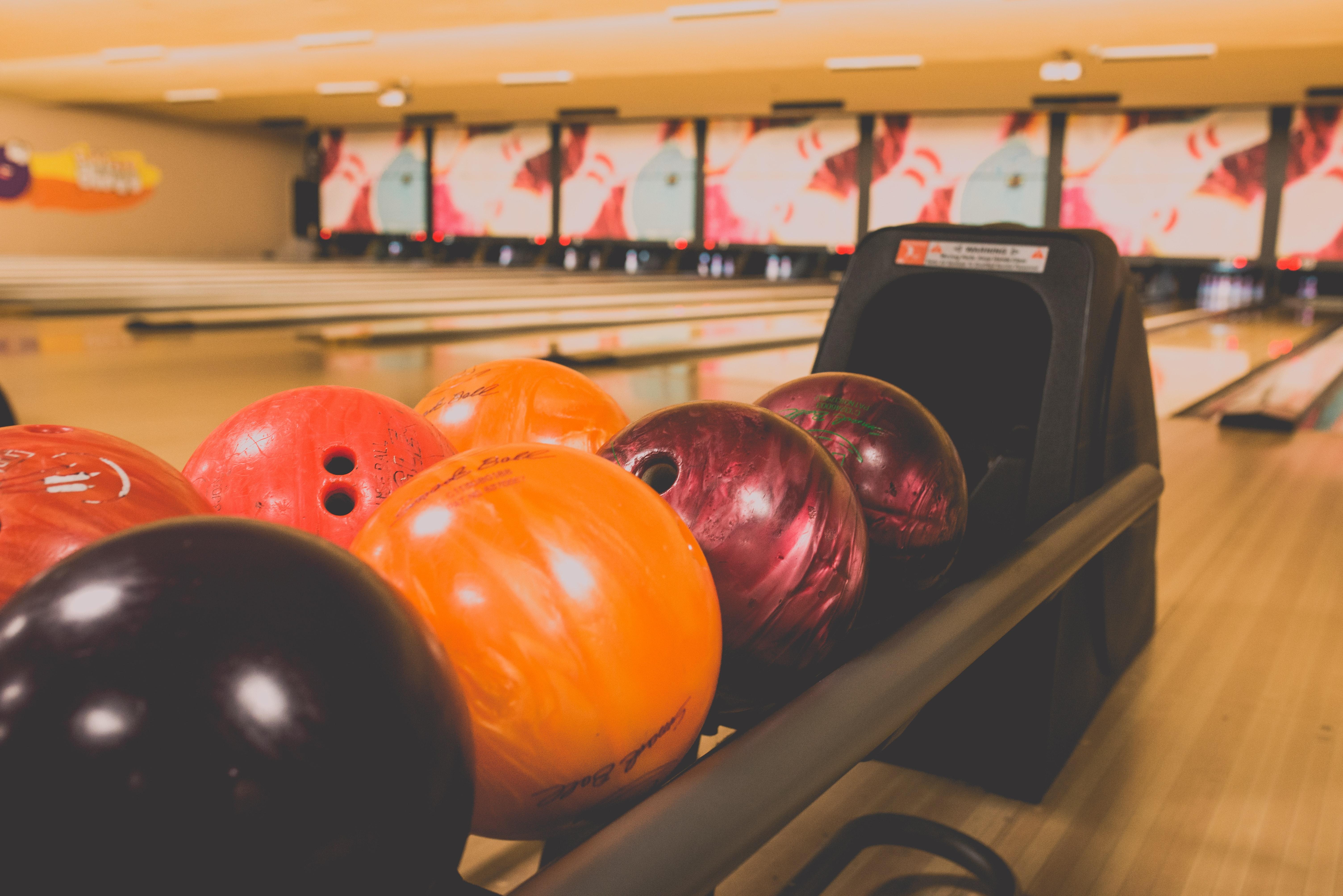 Bowling balls and lanes