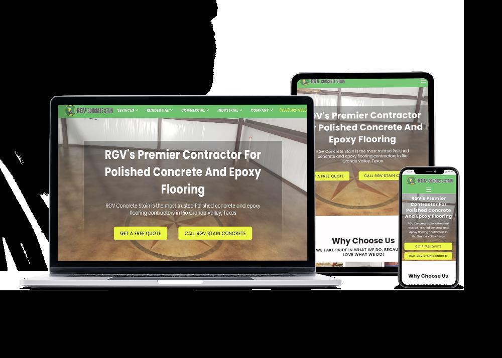 McAllen Texas website design and SEO services
