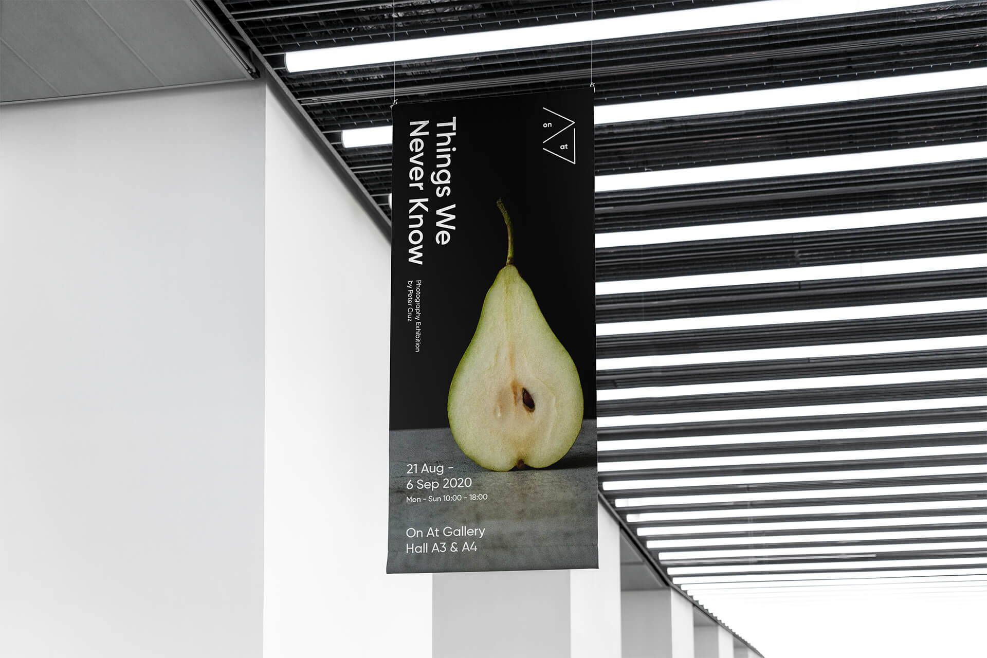 On At Gallery Banner Design