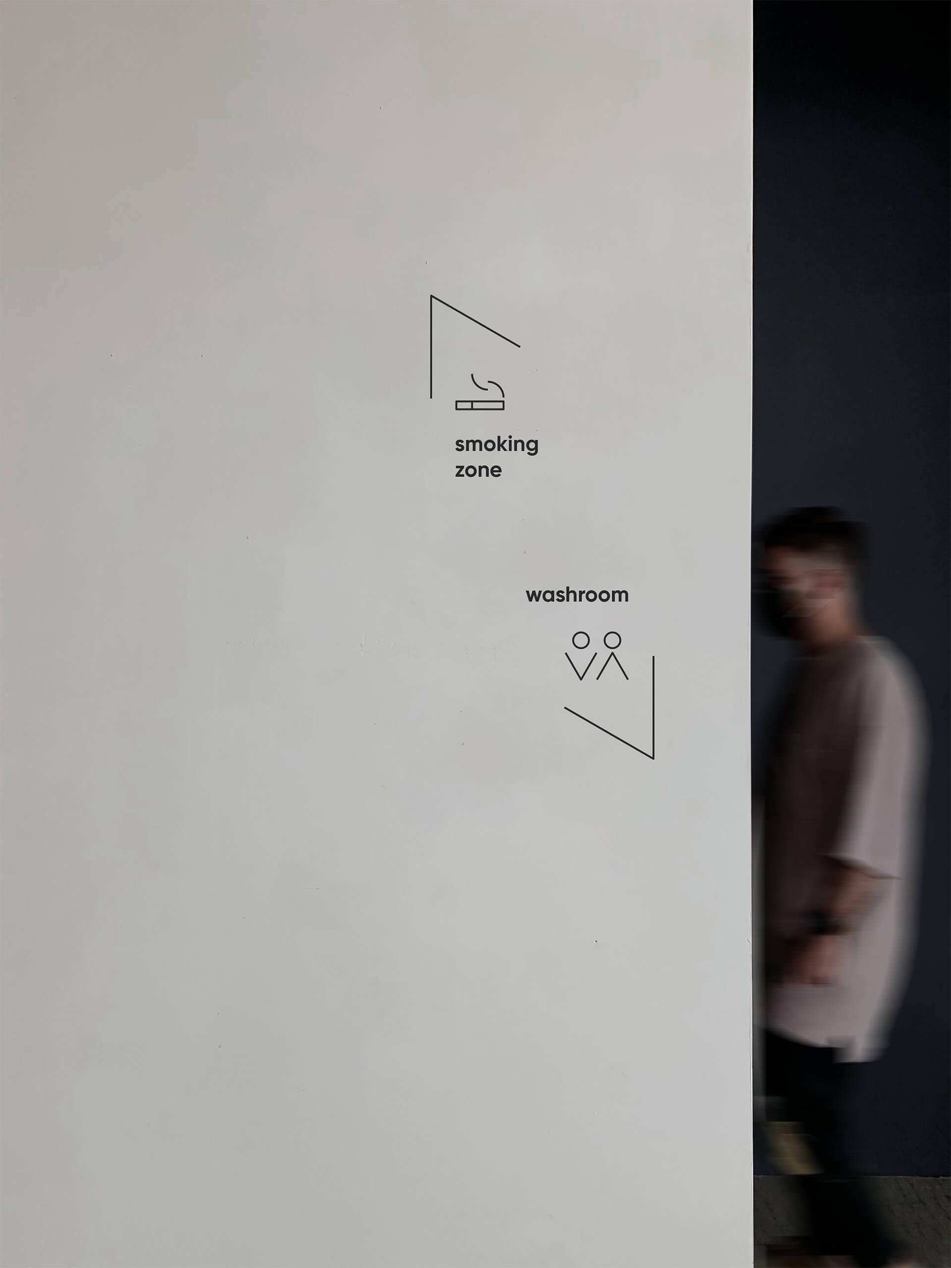 On At Gallery Wayfinding Design