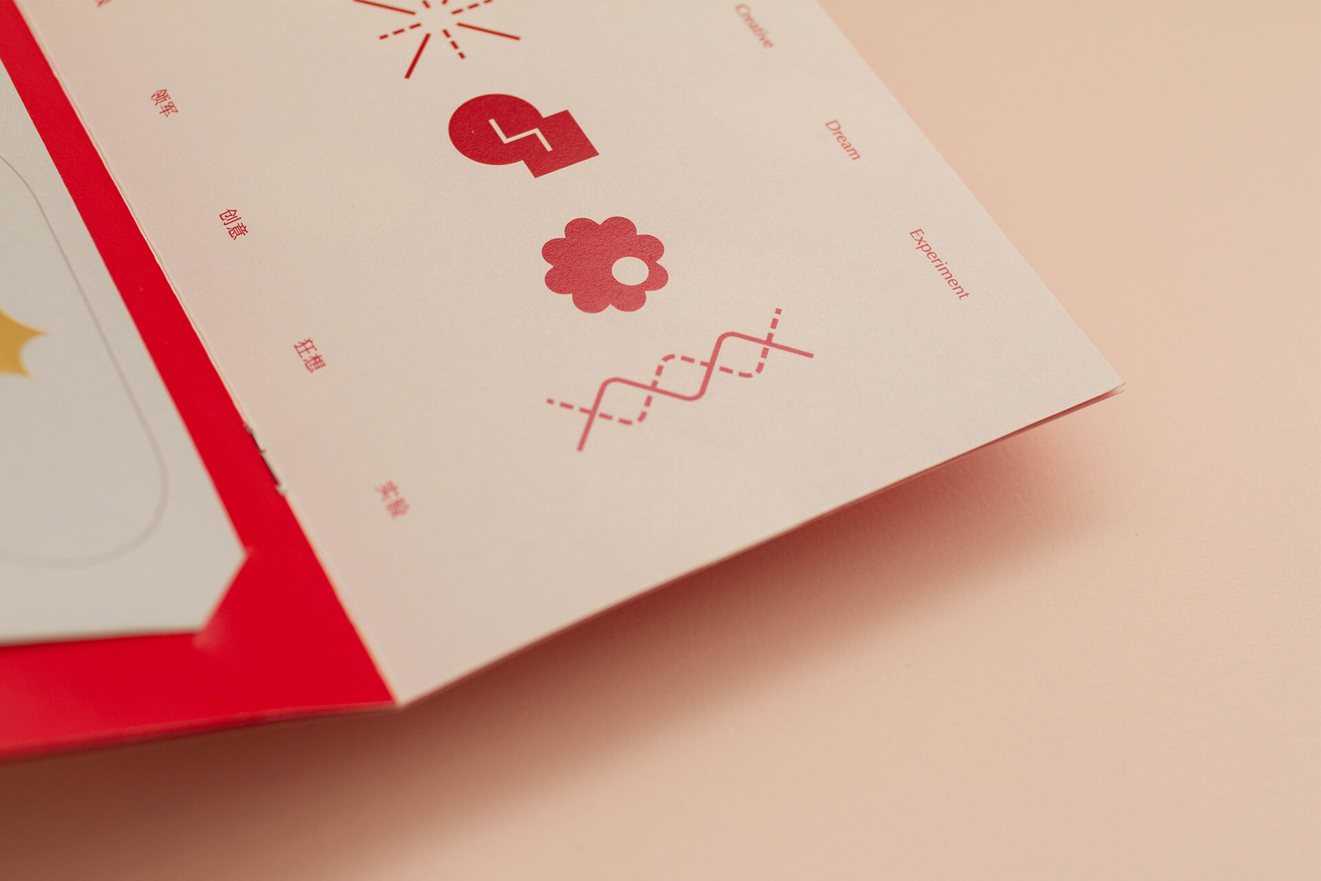 CNY 2020 Greeting Card Details & Close Up