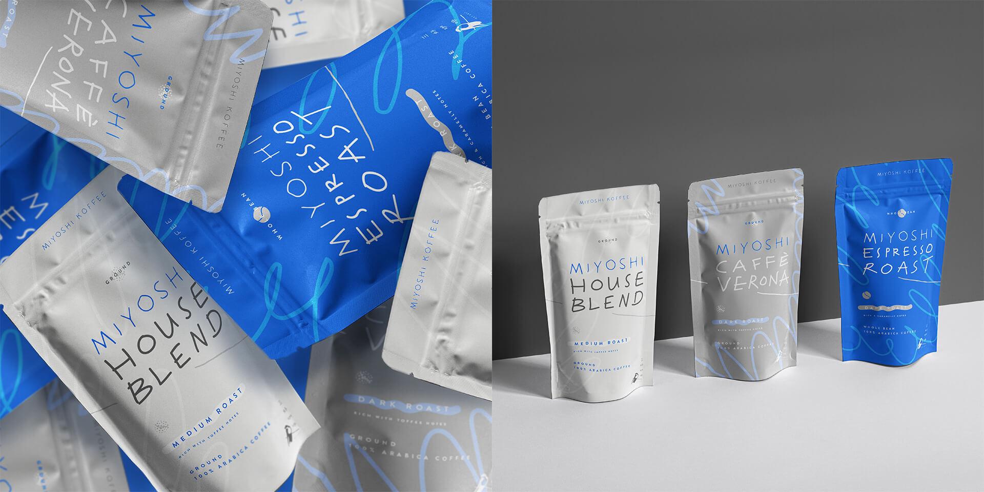 Miyoshi Koffee Packaging Design