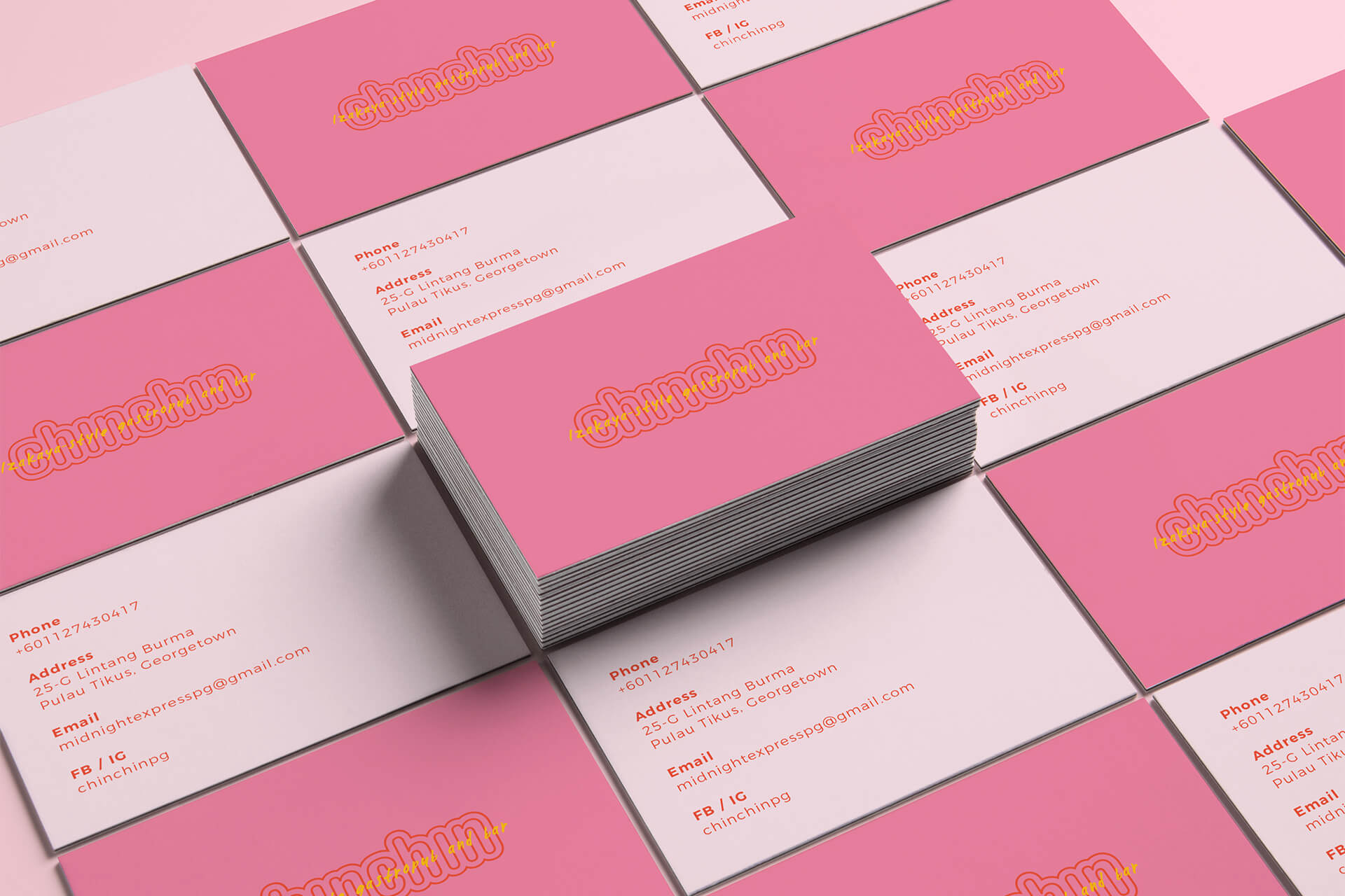 Chin Chin Business Card