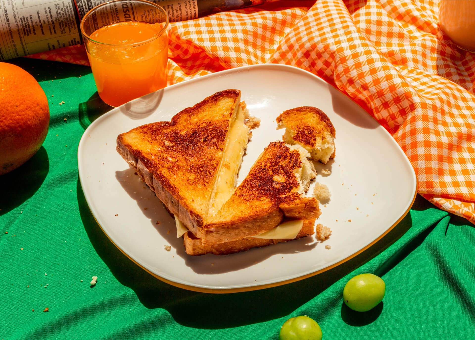 Grilled Cheese food photograph