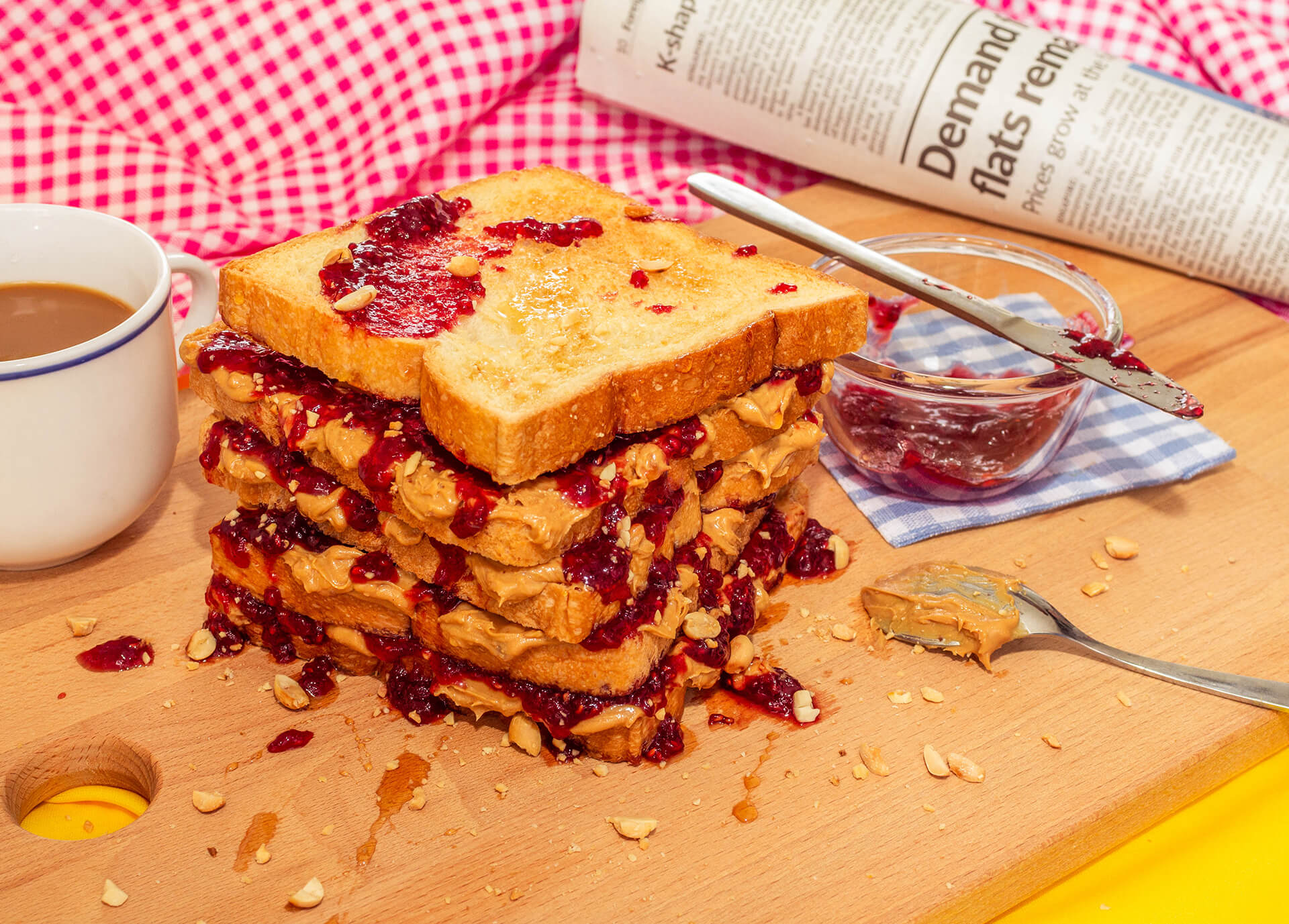 Peanut Butter Jelly food photograph