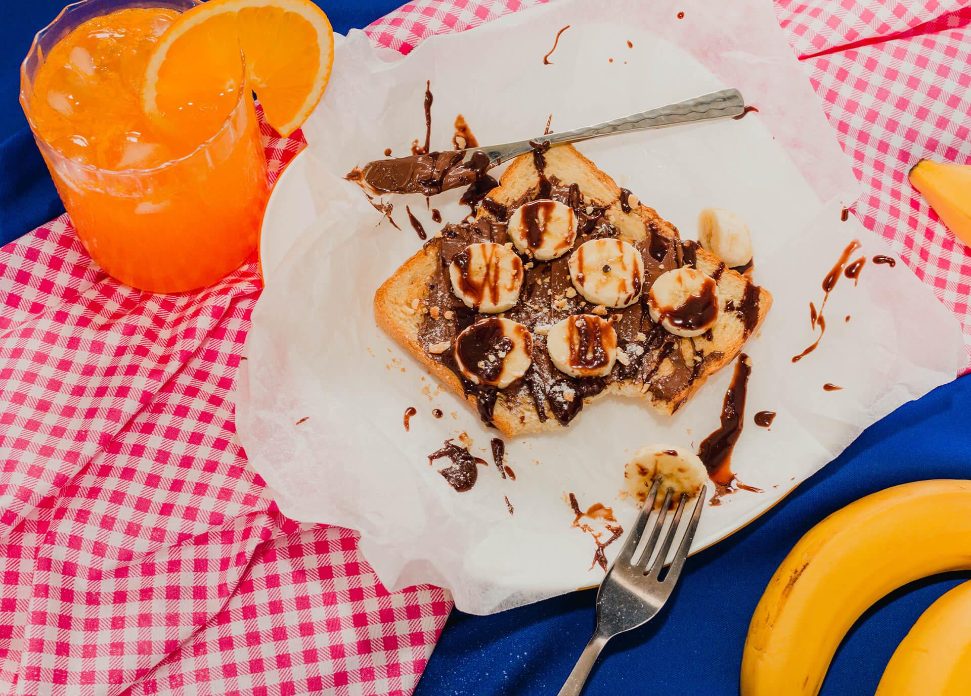 Chocolate Banana food photograph