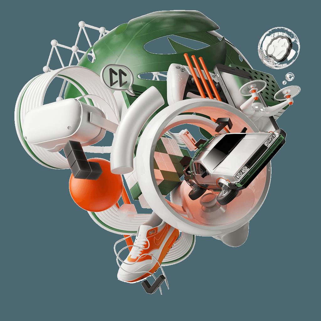 Curious Company AR VR XR 3D Web Realtime Unreal digitale Experiences