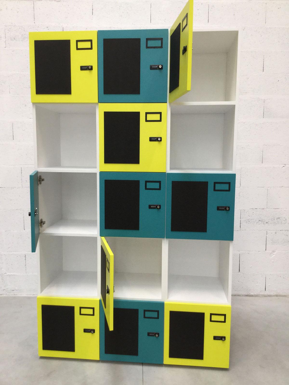 Station F casiers Studio Trigone