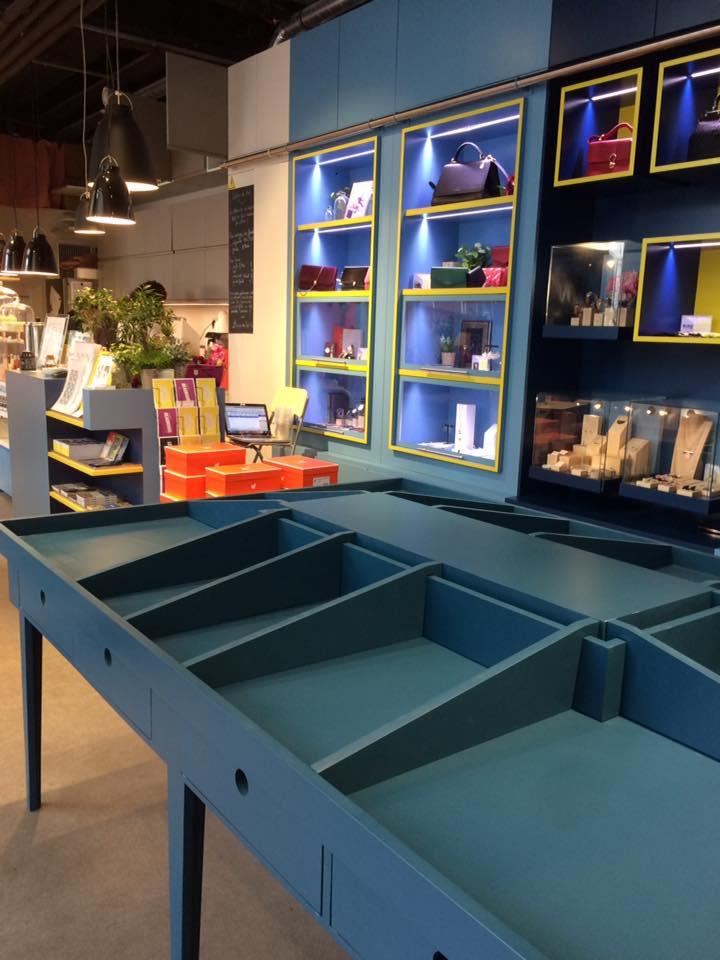 Concept-store Sept Cinq Paris Studio Trigone