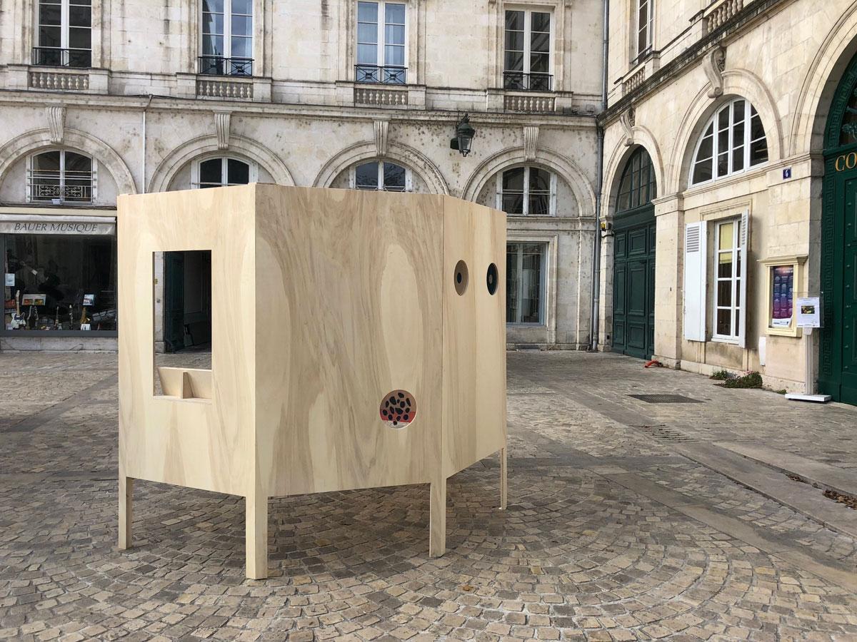 Mobilier urbain mairie d'Orleans Élisa Piras Studio Trigone