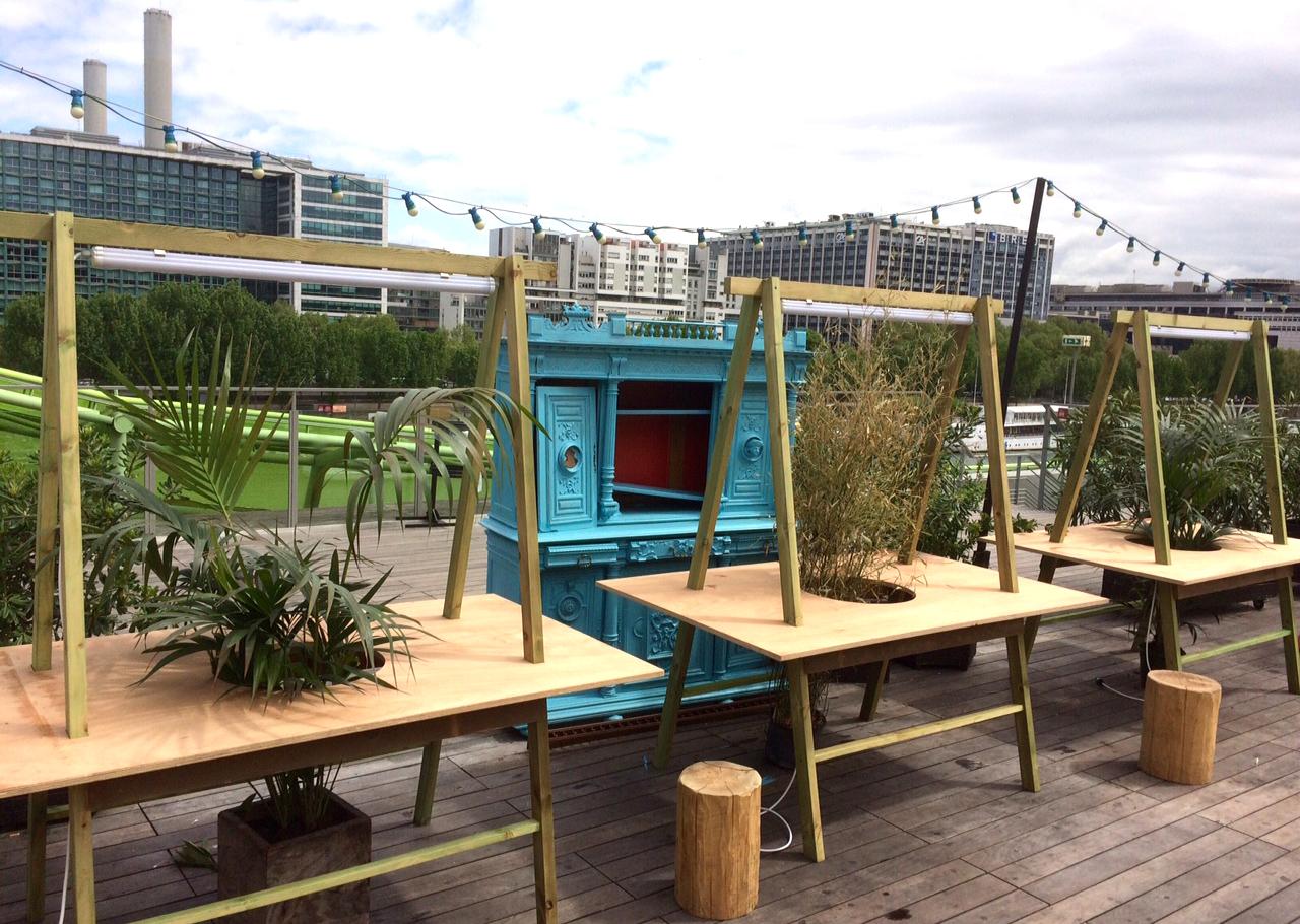 Bar Nüba Cité de la Mode et du Design Studio Trigone
