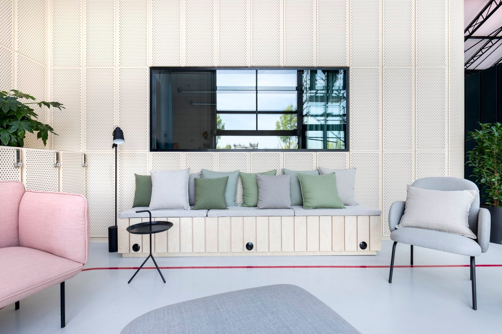 AménagementL'espace MYT L'Oréal Studio Trigone
