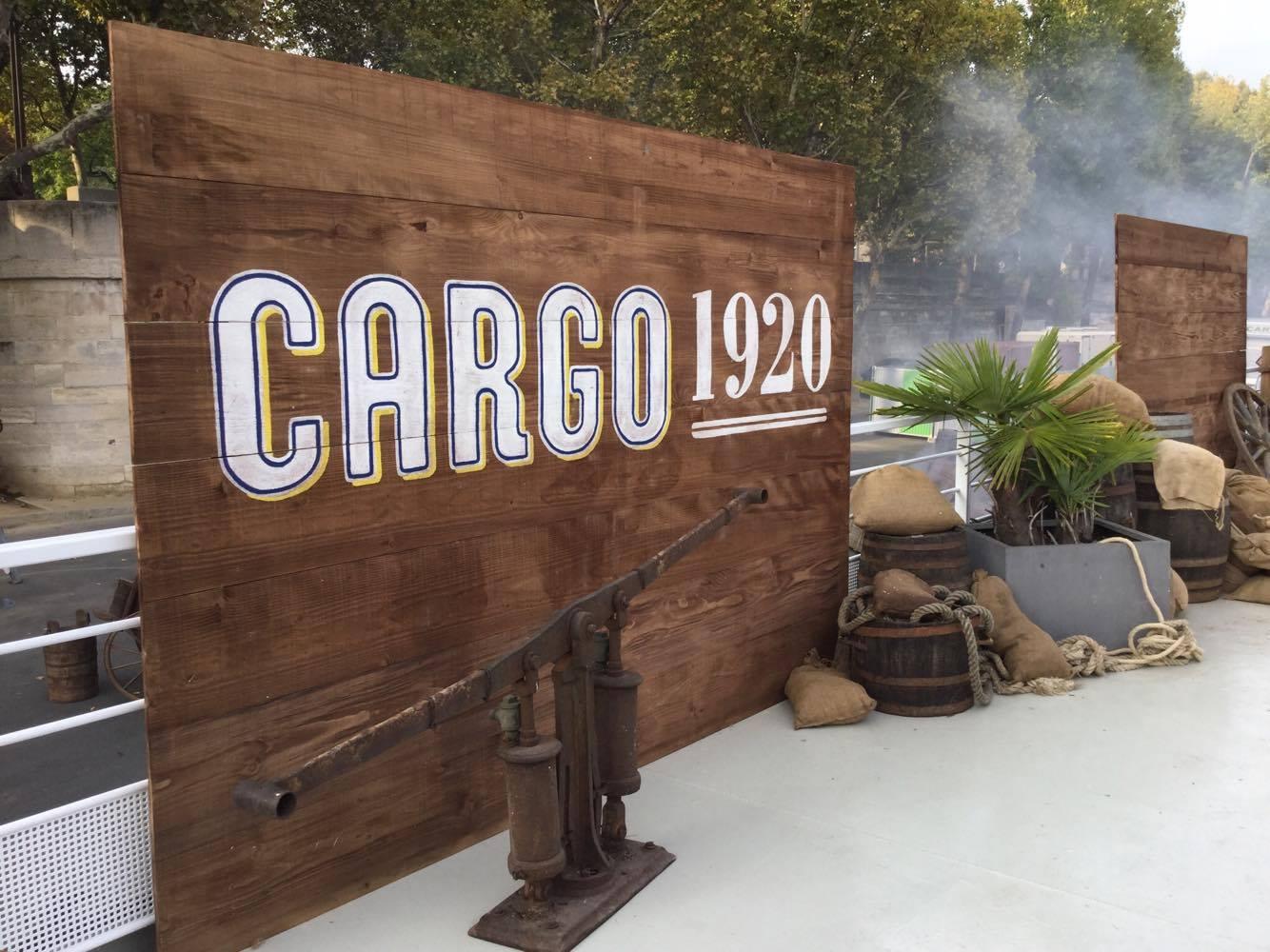 Décor J&B Cargo Studio Trigone