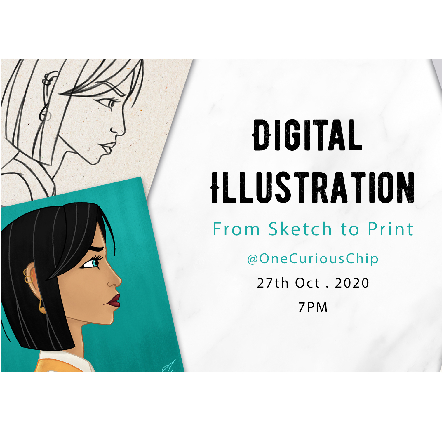 Digital Illustration: From Sketch to Print