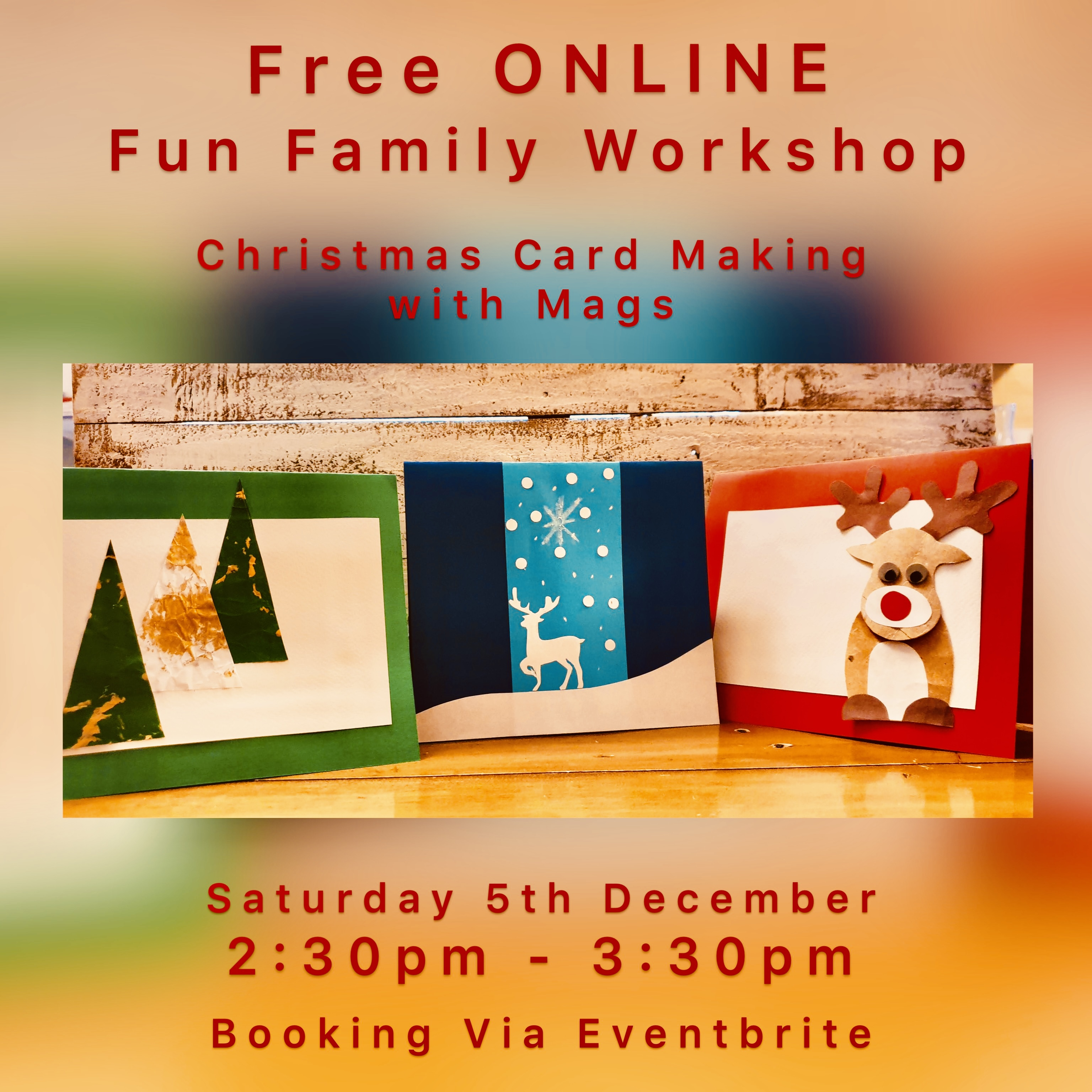Christmas card-making for all the family