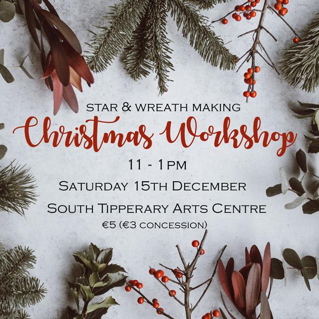 Wreath and Star making Workshop