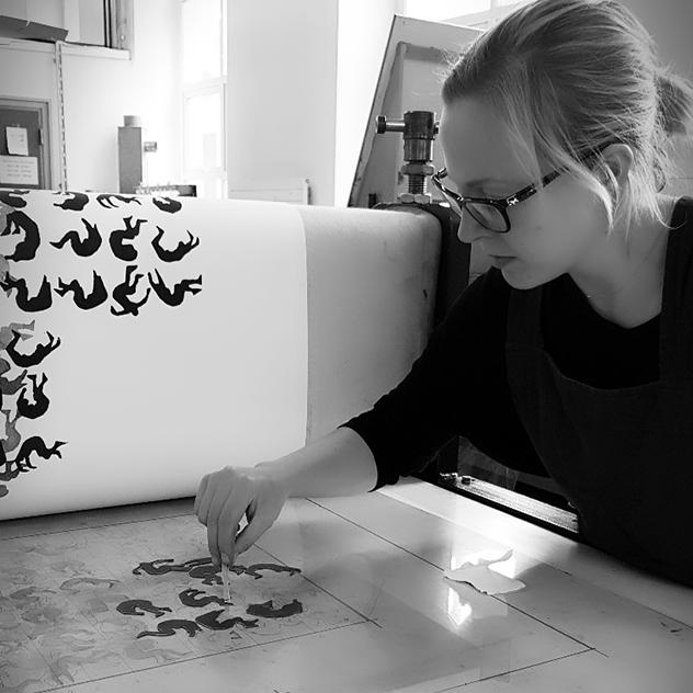 Aoife Barrett - Print Demonstration
