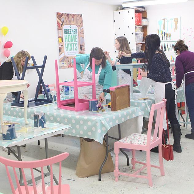 Upcycled Furniture Workshop