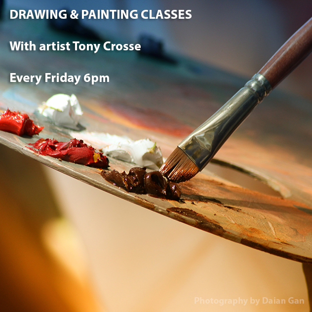 Drawing and Painting with Tony Crosse