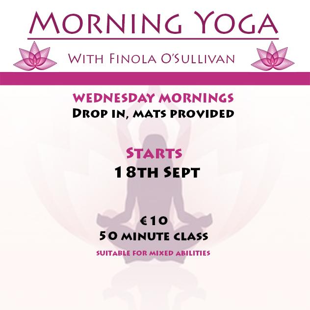 Morning Yoga with Finola O'Sullivan