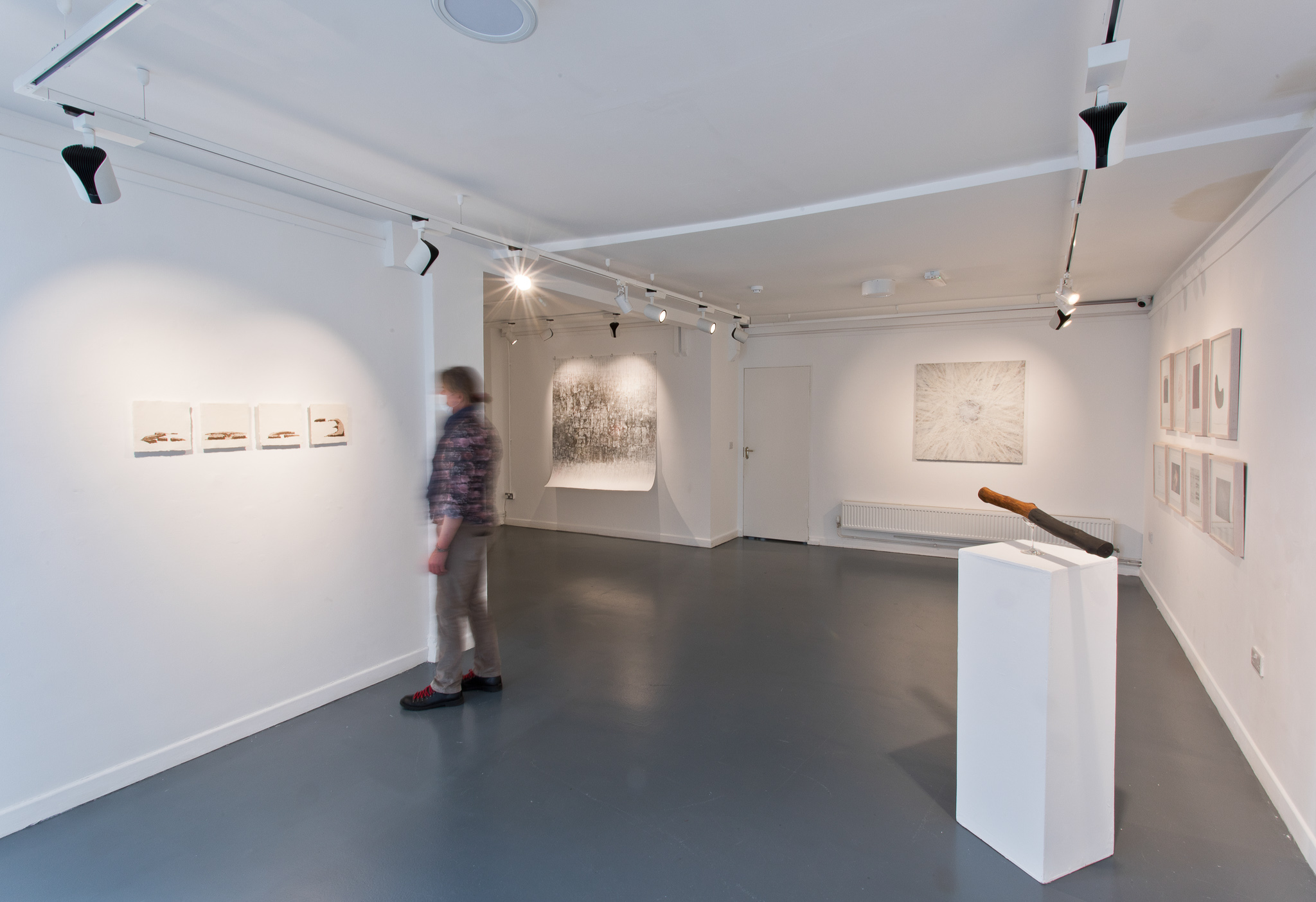 Na Cailleacha - Installation view