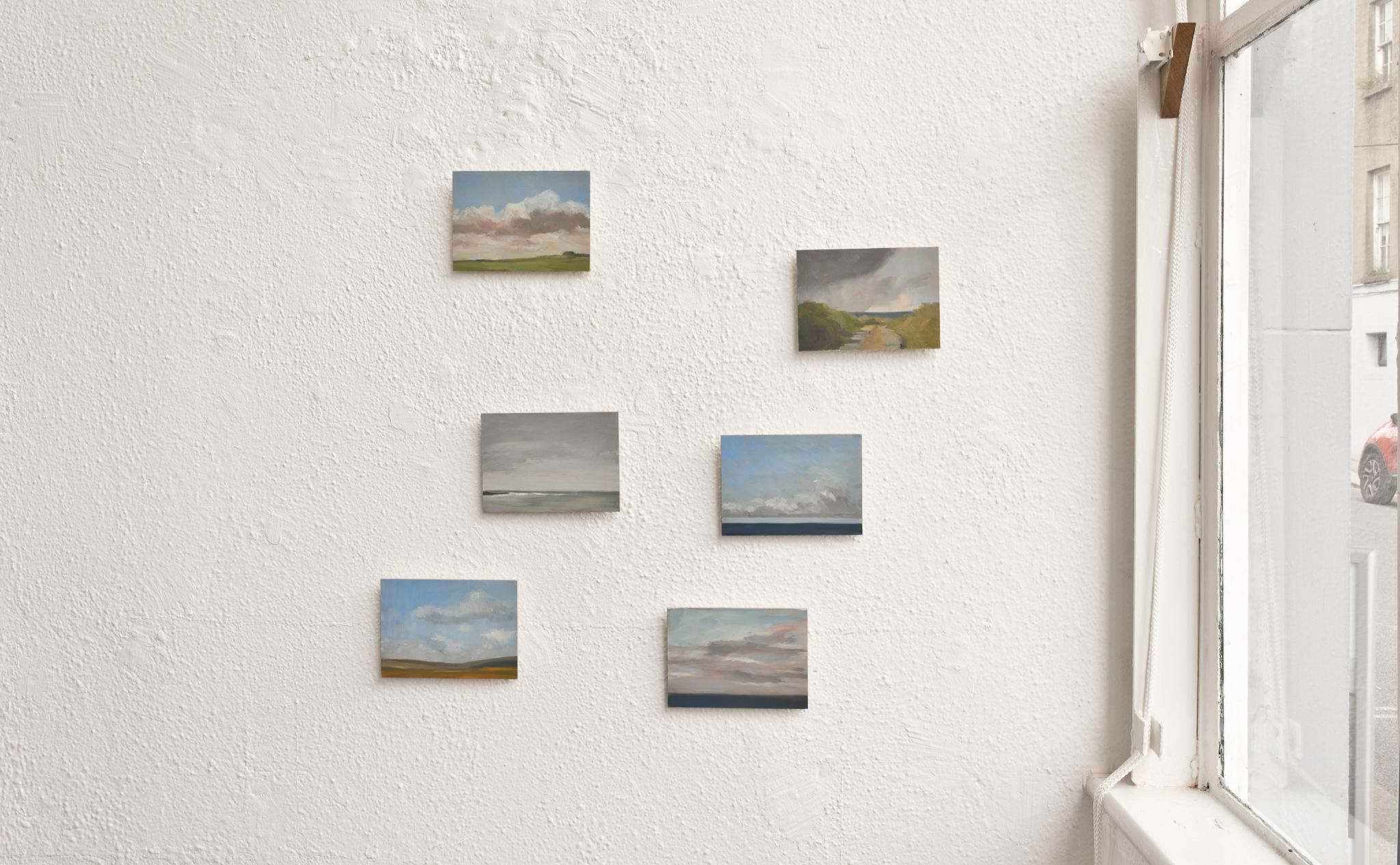 Maria Levinge, Postcards from Ballinglen, 2020, oil on board, 13x18cm - €300