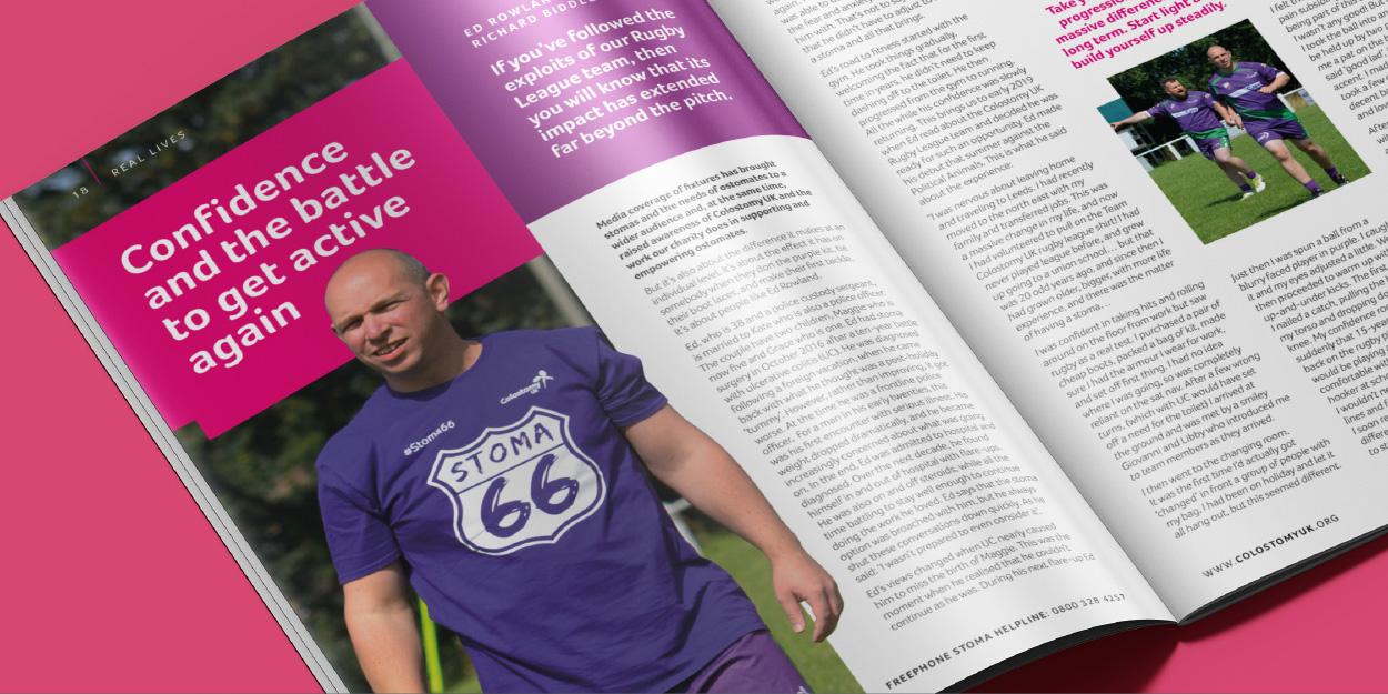 Colostomy UK - Tidings Magazine