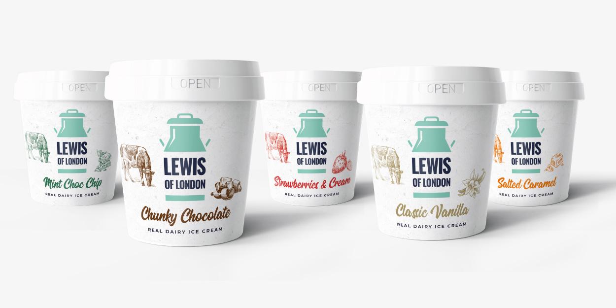 Lewis of London - Brand Refresh