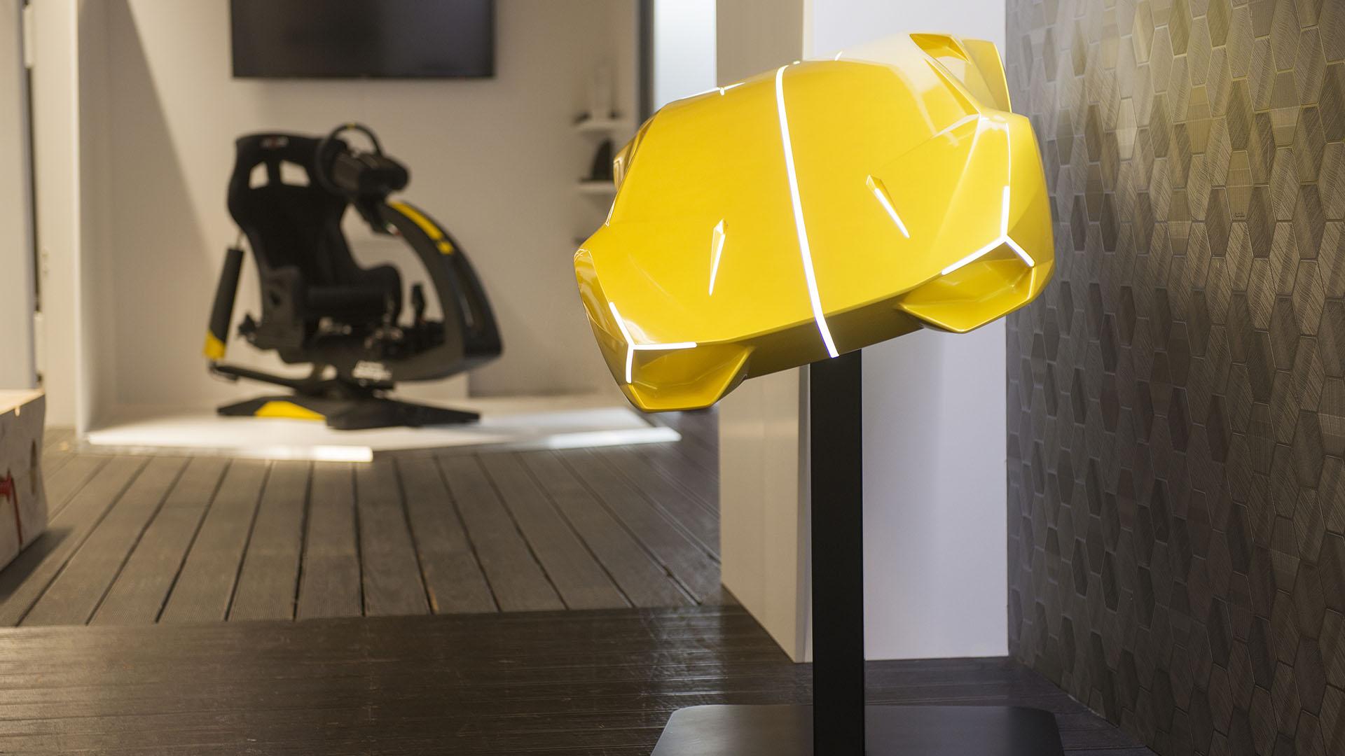 ImSim Motion Simulator on a International Milan Design Week