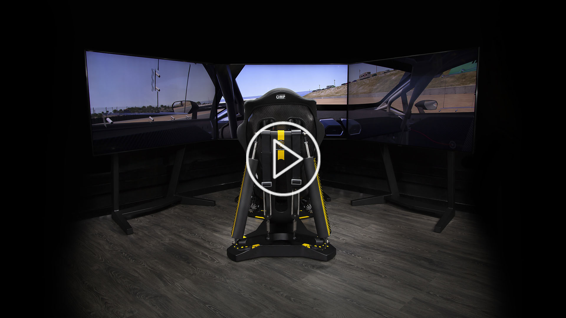 Automobili Lamborghini Super Trofeo Simultor by ImSim with triple screen