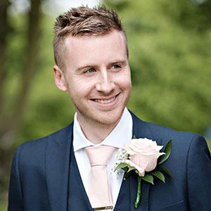 cool looking groom