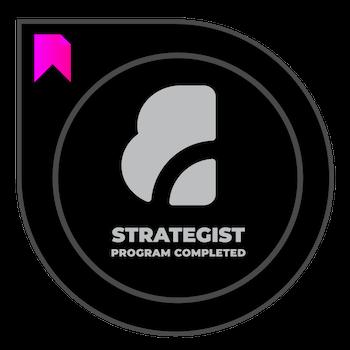 Brand Strategist badge