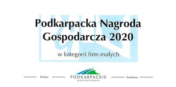 Podkarpacka Nagroda Gospodarcza 2020