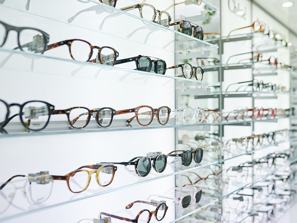 Parker & Co glasses and sunglasses selection