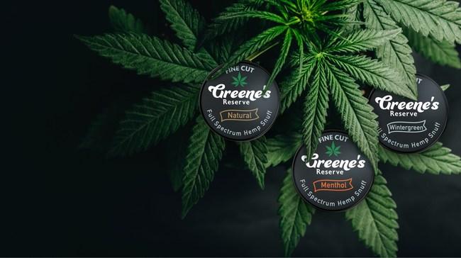 Greene's Reserve Full Spectrum Hemp Snuff