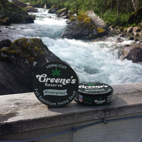 Greene's Reserve Wintergreen Snuff - Long Cut