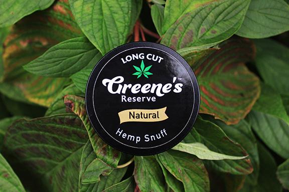 Long Cut Natural Hemp Snuff