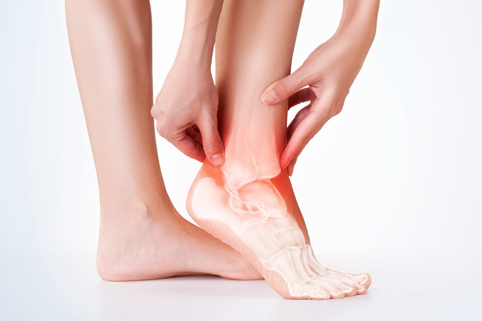 Image of foot and ankle in pain